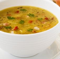 Zöldségkrém leves