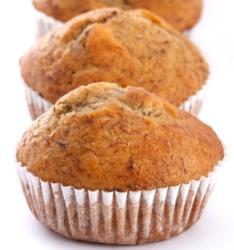 Fogyókúrás muffin almával és mandulával