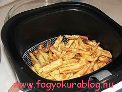 A zsírban,olajban tocsogó sültkrumpli már a múlté